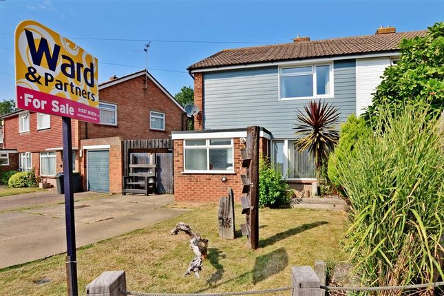 Thumbnail Semi-detached house for sale in Pettman Close, Herne Bay, Kent