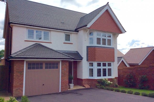Thumbnail Detached house for sale in Brambling Crescent, Hengoed, Caerphilly