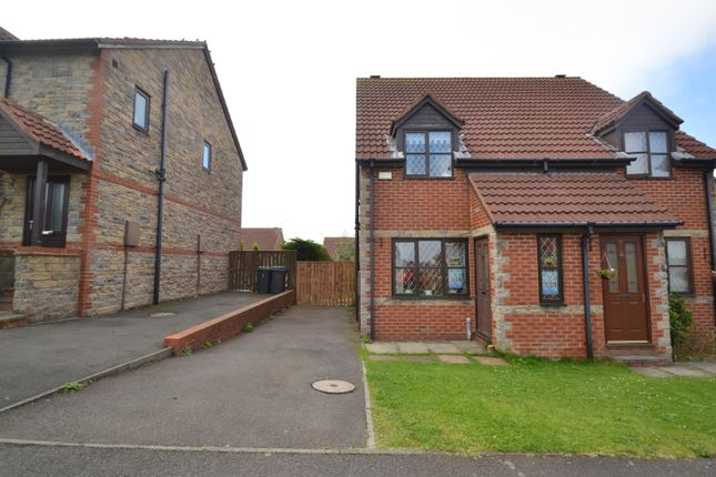 Thumbnail Semi-detached house to rent in Romany Drive, Consett, Co Durham