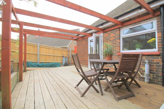 Decking Area of Maines Farm Road, Upper Beeding, Steyning BN44