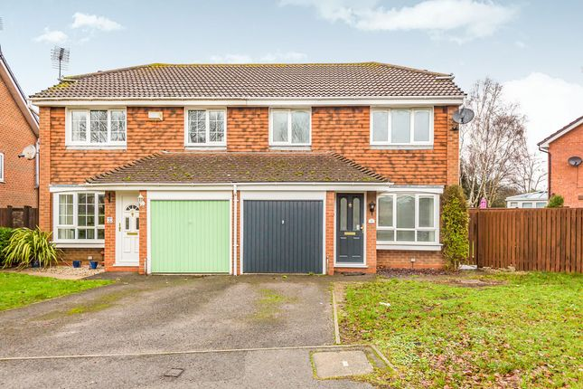 Thumbnail Semi-detached house to rent in Scott Close, Woodley, Reading