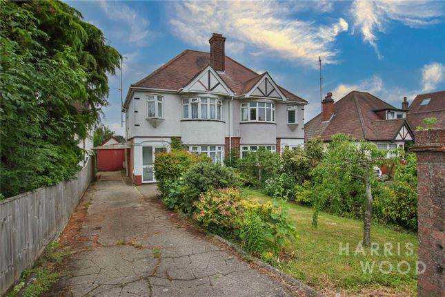 Semi-detached house for sale in Ipswich Road, Colchester