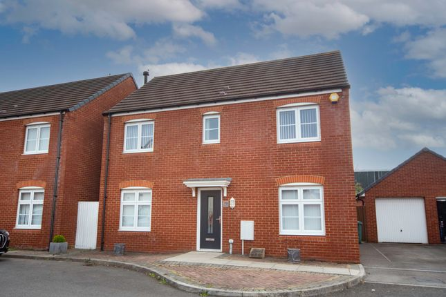 Thumbnail Detached house for sale in Ffordd Nowell, Penylan, Cardiff
