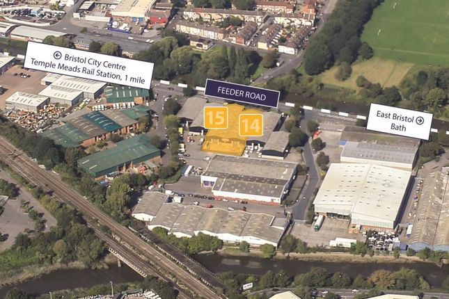 Thumbnail Industrial to let in Units 14-15, Avonside Industrial Park, Feeder Road, St Philips, Bristol