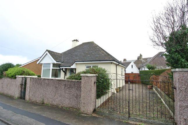 Thumbnail Detached bungalow for sale in The Crescent, Hest Bank, Lancaster