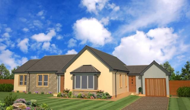 Thumbnail Bungalow for sale in Plot 7 Mains Of Struthers, Kinloss