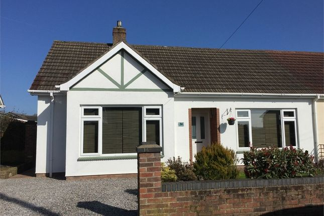 Thumbnail Semi-detached bungalow for sale in Severn Avenue, Tutshill, Chepstow