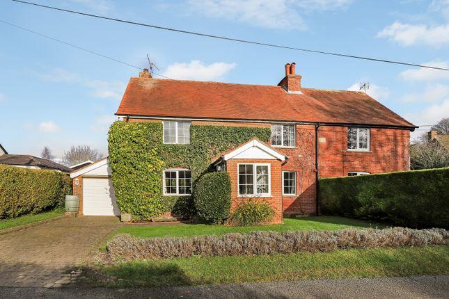 Thumbnail Semi-detached house for sale in Upper Bullington, Sutton Scotney, Winchester