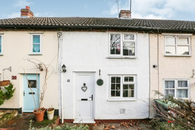 Thumbnail Terraced house for sale in Station Road, Henlow, Bedfordshire