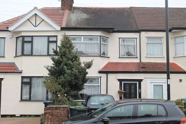 Thumbnail Terraced house for sale in Newbury Avenue, Enfield
