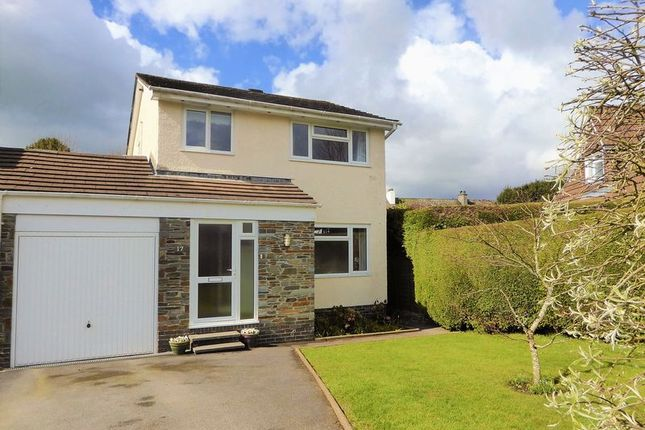 Thumbnail Detached house for sale in Shelley Avenue, Tavistock