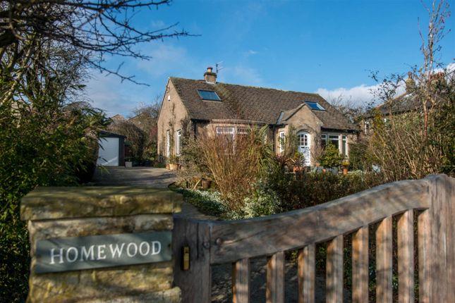 Thumbnail Detached bungalow for sale in Turner Lane, Addingham, Ilkley