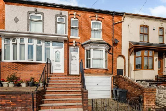 Thumbnail Terraced house for sale in Kenelm Road, West Midlands, Birmingham