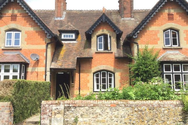 Thumbnail Terraced house to rent in Church Road, Iwerne Minster, Blandford Forum, Dorset