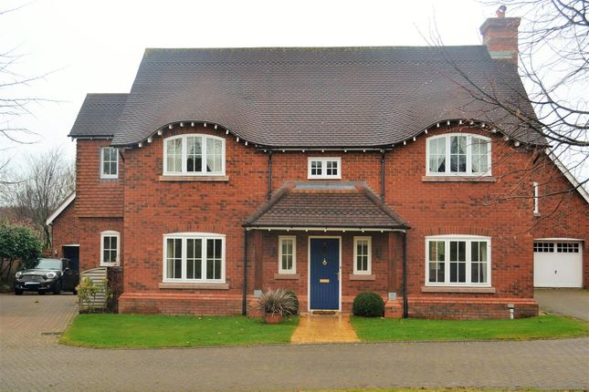 Thumbnail Detached house for sale in Wychwood Park, Weston, Crewe