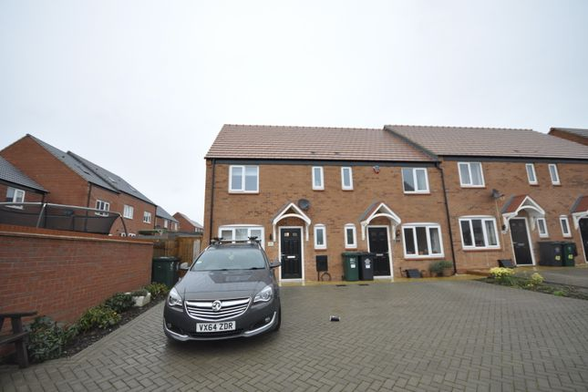 Thumbnail End terrace house to rent in Kingsgate Road, Chellaston, Derby