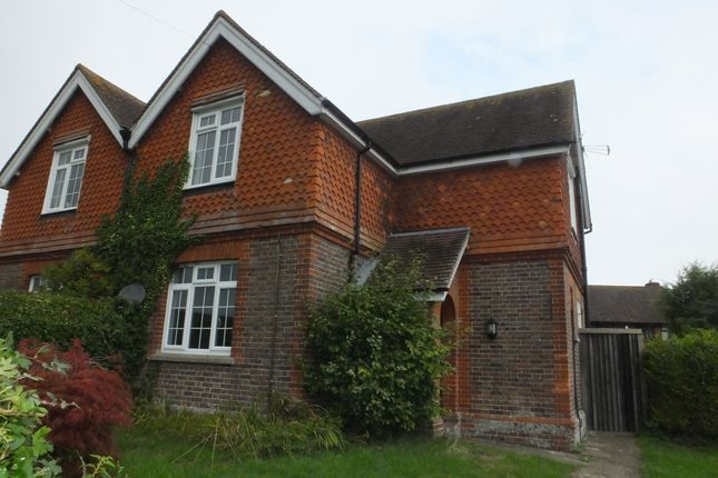 Thumbnail Semi-detached house to rent in Gote Lane, Ringmer
