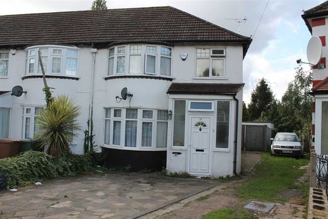 Thumbnail Semi-detached house to rent in Adderley Road, Harrow