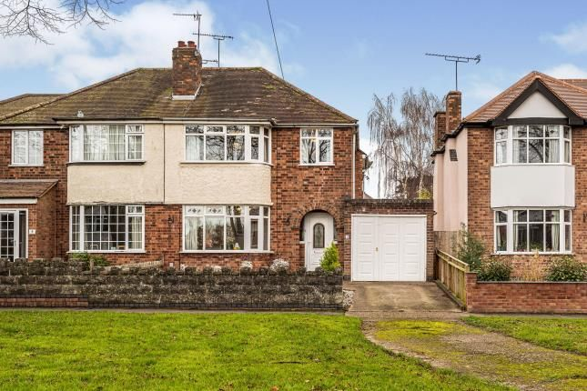 Thumbnail Semi-detached house for sale in George Road, Warwick, Warwickshire