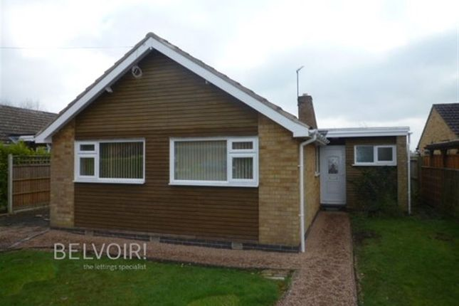 Thumbnail Bungalow to rent in Gorse Lane, Oadby, Leicester