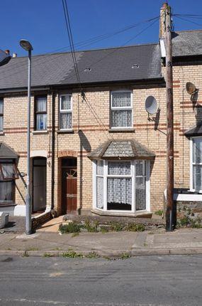 Thumbnail Terraced house to rent in Clifton Street, Bideford