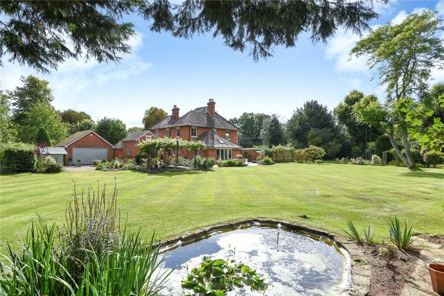 Thumbnail Detached house for sale in Hyde End Road, Shinfield, Reading, Berkshire