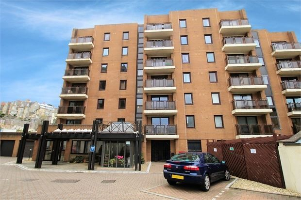 Thumbnail Flat for sale in Madeira Court, Knightstone Court, Weston-Super-Mare, North Somerset.