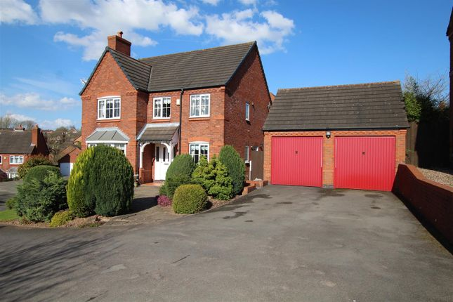 Thumbnail Detached house for sale in Carpenter Close, Stapenhill, Burton-On-Trent