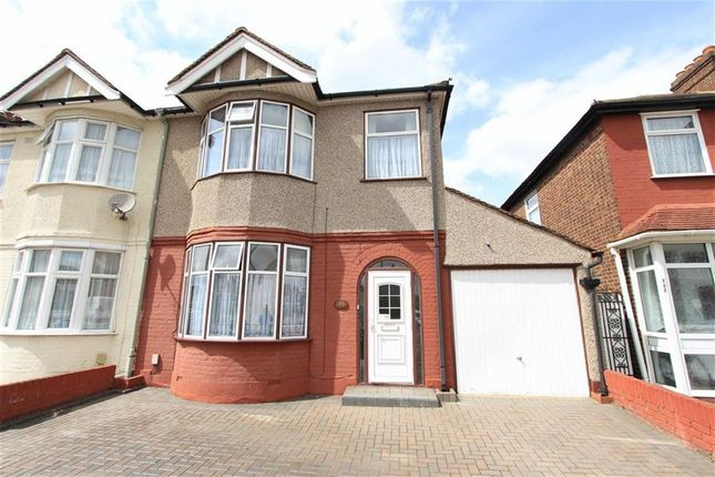 Thumbnail End terrace house for sale in Eton Road, Ilford, Essex