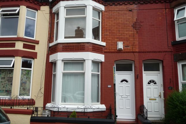 Thumbnail Terraced house to rent in Baytree Road, Tranmere