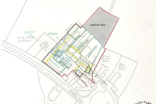 Thumbnail Land for sale in Finn Farm Road, Kingsnorth, Ashford