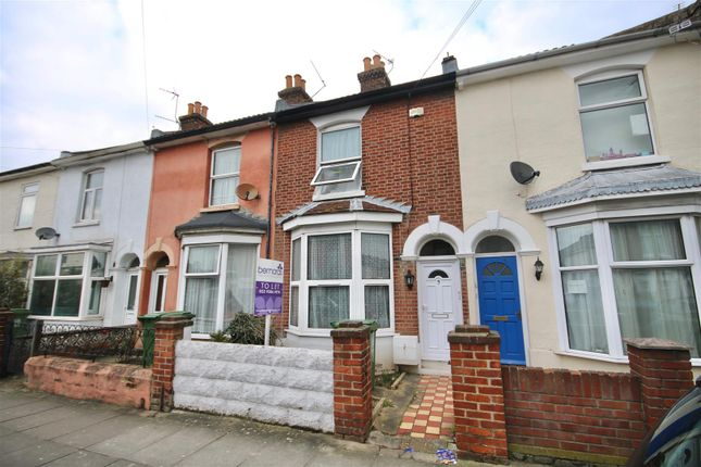 Thumbnail Terraced house to rent in Orchard Road, Southsea, Portsmouth, Hampshire