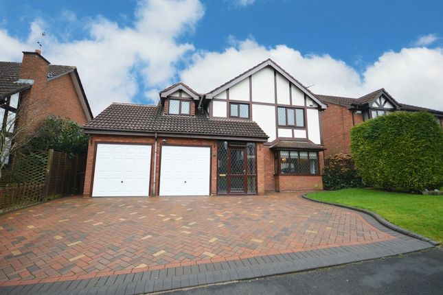 Thumbnail Detached house for sale in Perryford Drive, Hillfield, Solihull