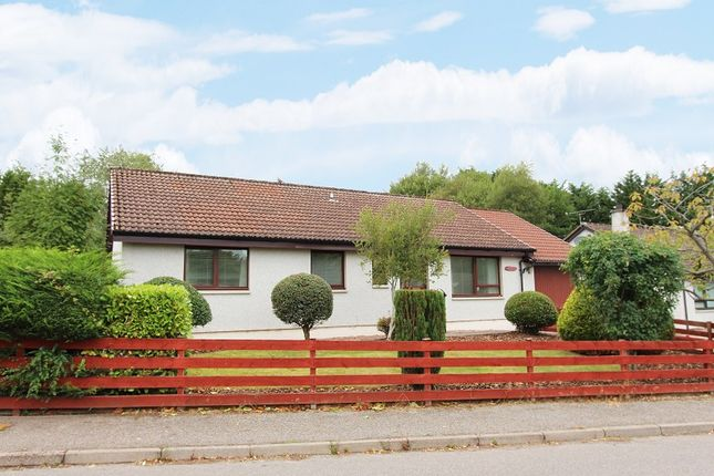 Thumbnail Detached bungalow for sale in 4 Birch Drive, Maryburgh, Dingwall