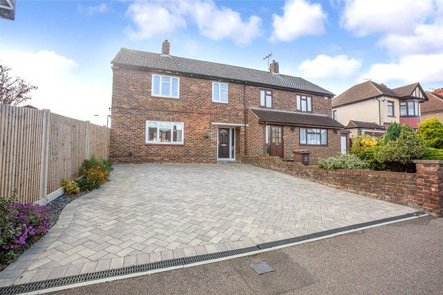 Thumbnail Semi-detached house for sale in Begonia Avenue, Rainham, Kent