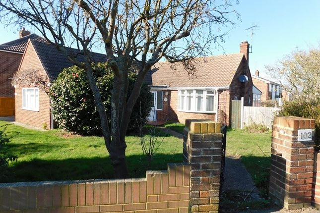 Thumbnail Detached bungalow for sale in Ashley Road, Dovercourt, Harwich