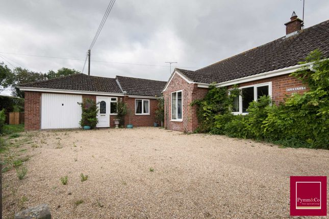 Thumbnail Bungalow for sale in Reepham Road, Bawdeswell, Dereham
