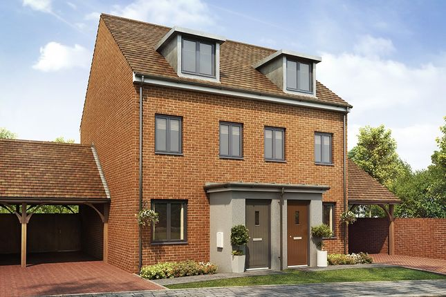 """Thumbnail Semi-detached house for sale in """"The Souter"""" at Southfleet Road, Swanscombe"""