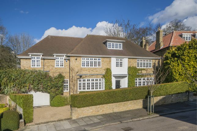 5 bed detached house for sale in West Heath Close, Hampstead
