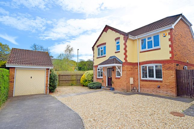 Thumbnail Detached house for sale in Clover Drive, Culllompton