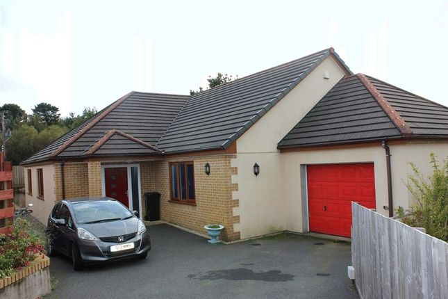 Thumbnail Bungalow for sale in Singlerose Road, Stenalees, St Austell