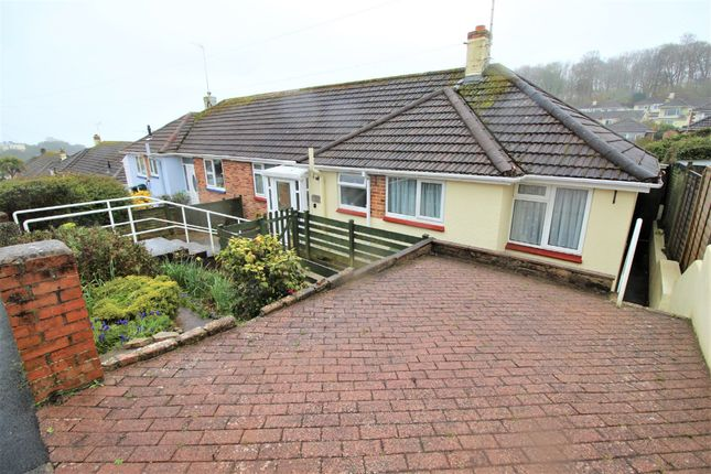 Thumbnail Semi-detached bungalow for sale in Greenlands Avenue, Paignton
