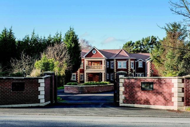 Thumbnail Detached house for sale in Darras Road, Darras Hall, Newcastle Upon Tyne