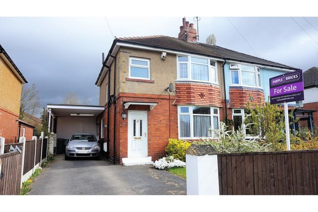 Thumbnail Semi-detached house for sale in Brookside, Collingham
