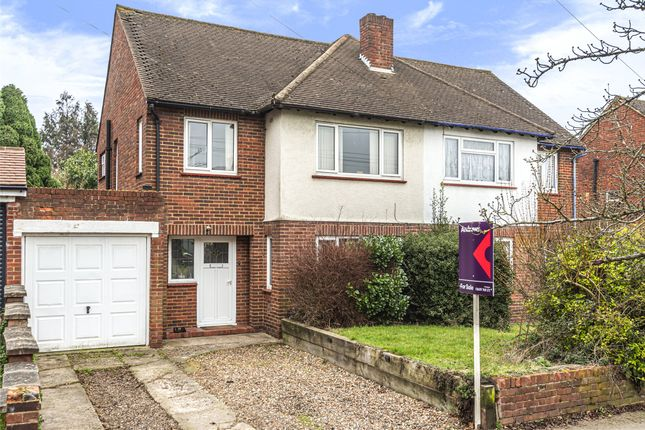 Thumbnail Semi-detached house for sale in Chelsfield Lane, Orpington