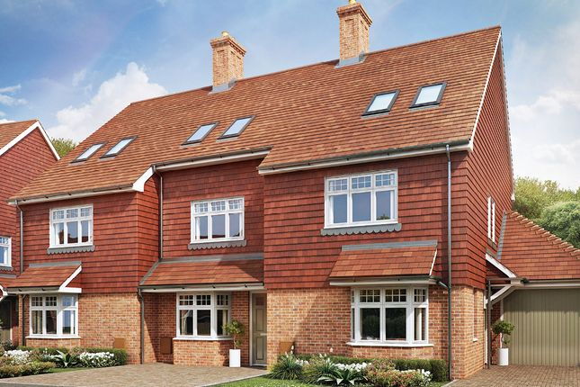 Thumbnail End terrace house for sale in Love Lane, Mayfield, East Sussex