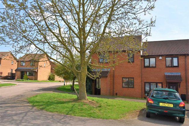 Thumbnail End terrace house to rent in Hedgeway, East Hunsbury, Northampton