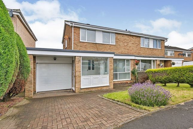 Thumbnail Semi-detached house for sale in Exeter Close, Great Lumley, Chester Le Street