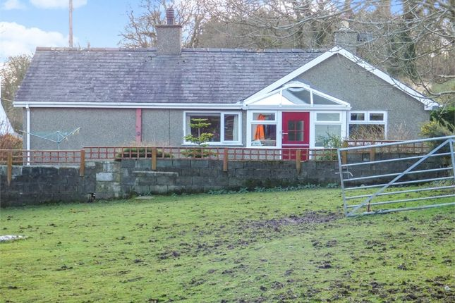 Thumbnail Detached bungalow for sale in Boduan, Pwllheli, Gwynedd