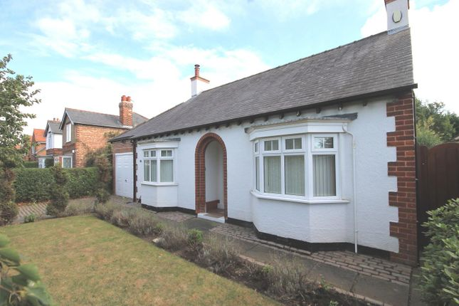 Thumbnail Detached bungalow for sale in Ainderby Road, Romanby, Northallerton
